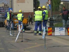 Se opreşte apa pe strada Gh.Gr.Cantacuzino din cauza unei avarii